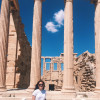 A student studying abroad with College Year in Athens: Athens - CYA