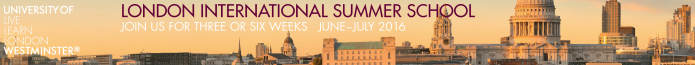 University of Westminster: London - Summer School