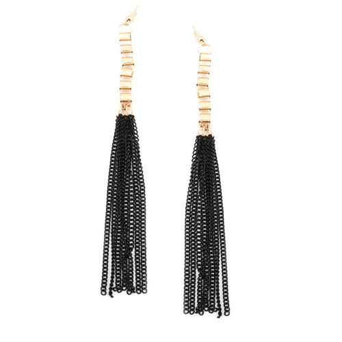 Gold & black Fall Earrings