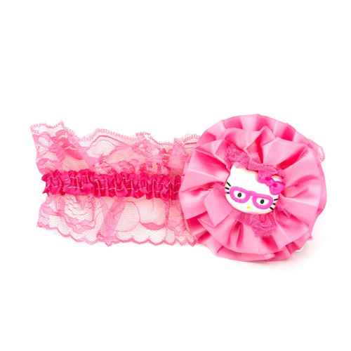 Chic Dark Pink Hello Kitty Hair band for Kids