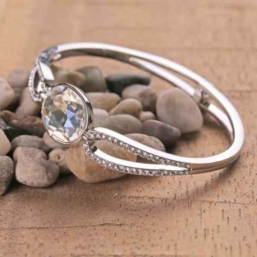 Crystal Clear Swarovski Crystal Bracelet