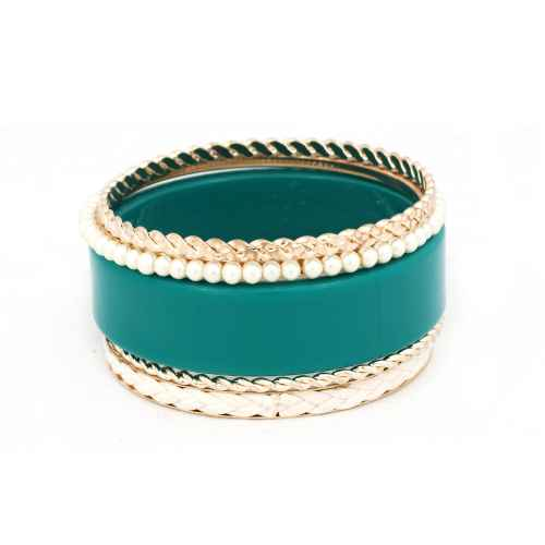 Blue Shimmer Bangles