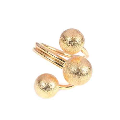 Golden Ball Ring