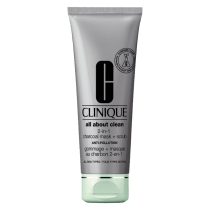 Clinique All About Clean 2-in-1 Charcoal Mask + Scrub Anti-Pollution