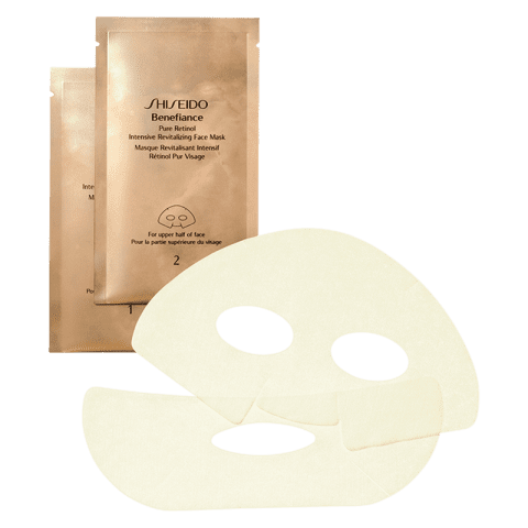 Shiseido Benefiance Pure Retinol Intensive Revitalizing Face Mask 4 Stk