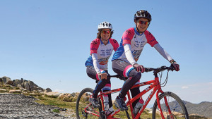 Tandem Ride Raises Funds for Teen Girls