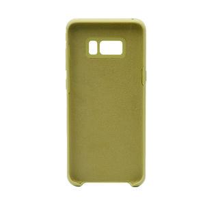 For Samsung Galaxy SM-G955F S8 Plus Silicone Plain Matte Case Mint Green