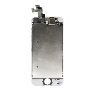 For iPhone 5S LCD Display OEM(TM) White With Small Parts