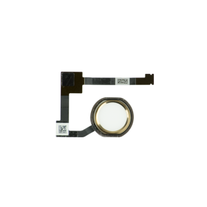For iPad Air 2/iPad mini 4/iPad Pro 12.9 Home Button Complete Gold(no image)