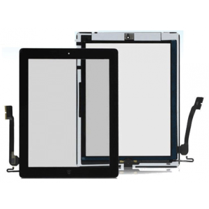 For iPad 3 Touch Black OEM