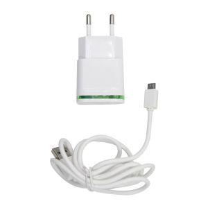 For Samsung ST12  2.1A Travel charger green