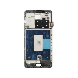 For One Plus 3T LCD with Frame Black