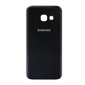 For SamsungA3 2017back coverblack with emie no