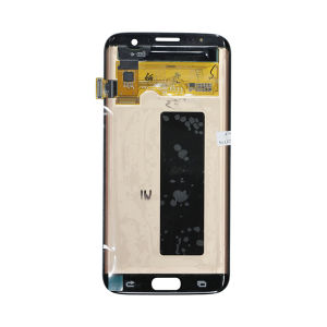 For Samsung SM-G935F S7 Edge LCD Original Assembly White With Frame