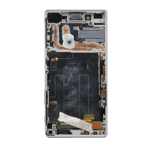 For Sony Xperia Z5 LCD Display Original White with frame