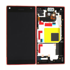 For Sony Xperia Z5 Compact LCD With Frame Original Red