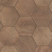 "Native 13.5"" x 13.5"" x 3/8"" Floor and Wall Tile in Fire"