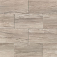 "Athena 12"" x 24"" x 3/8"" Floor and Wall Tile in Ash"