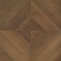 "Antique 24"" x 24"" x 3/8"" Floor and Wall Tile in Walnut"