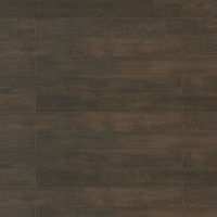 "Barrique 4"" x 40"" x 3/8"" Floor and Wall Tile in Fonce"