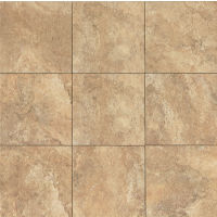 "Forge 13"" x 13"" x 3/8"" Floor and Wall Tile in Gold"