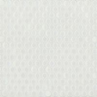 "360 3/4"" x 3/4"" Floor and Wall Mosaic in White Gloss"