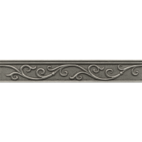 "Ambiance 2"" x 12"" x 1/2"" Trim in Pewter"