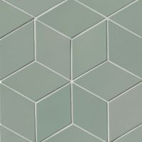 "Costa Allegra 4.5"" x 8"" x 1/2"" Floor and Wall Tile in Gulf"