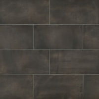 "Chateau 12"" x 24"" x 1/4"" Floor and Wall Tile in Tobacco"
