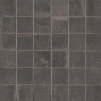"Palazzo 2"" x 2"" Floor and Wall Mosaic in Castle Graphite"
