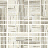 "Zebrino 1"" x 1"" Floor and Wall Mosaic in Classico"