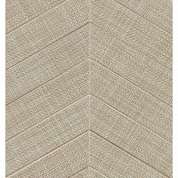 "Dagny 2"" x 6"" Floor and Wall Mosaic in Taupe"