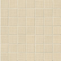 "Linen 1-1/2"" x 1-1/2"" Floor and Wall Mosaic in Almond"