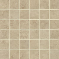 "Roma 2"" x 2"" Floor and Wall Mosaic in Almond"