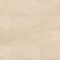 "Aymaran Cream 12"" x 24"" x 3/8"" Floor and Wall Tile"