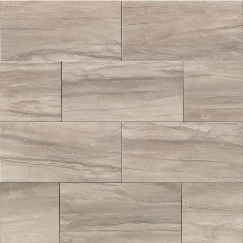 "Athena 12"" x 24"" Floor & Wall Tile in Ash"