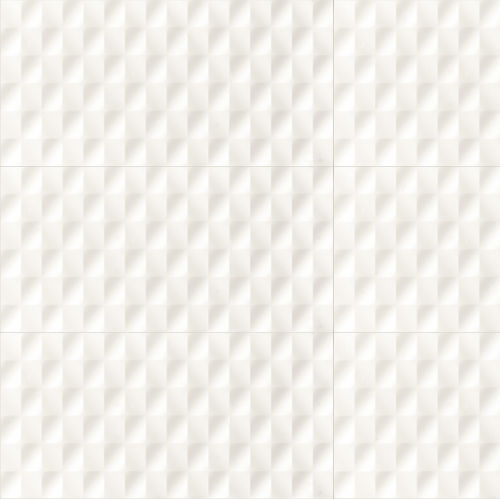 "Shape 16"" x 32"" x 3/8"" Wall Tile in White"
