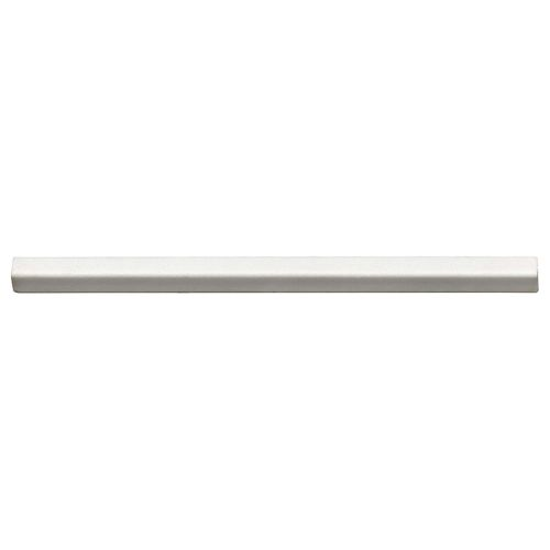 "Shape 0.38"" x 8"" Trim in White"