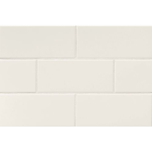 "Traditions 4"" x 10"" x 1/4"" Wall Tile in Biscuit"