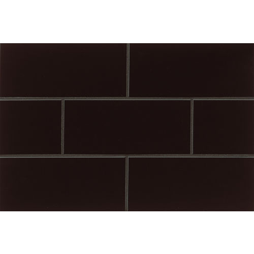 "Traditions 4"" x 10"" x 1/4"" Wall Tile in Black"
