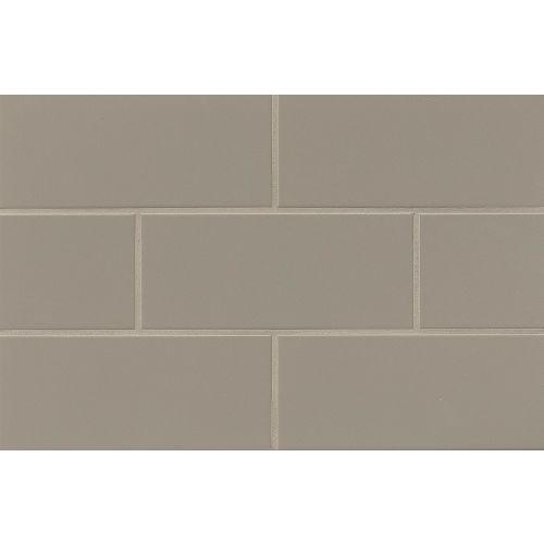 "Traditions 4"" x 10"" Wall Tile in Taupe"