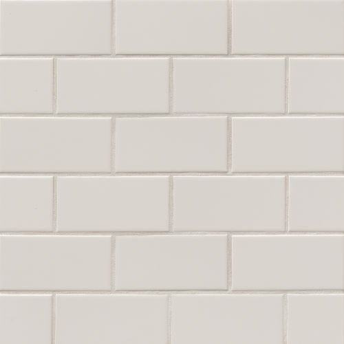 "Traditions 3"" x 6"" Wall Tile in Tender Gray"