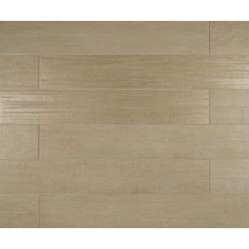 "Barrique 4"" x 24"" Floor & Wall Tile in Blanc"
