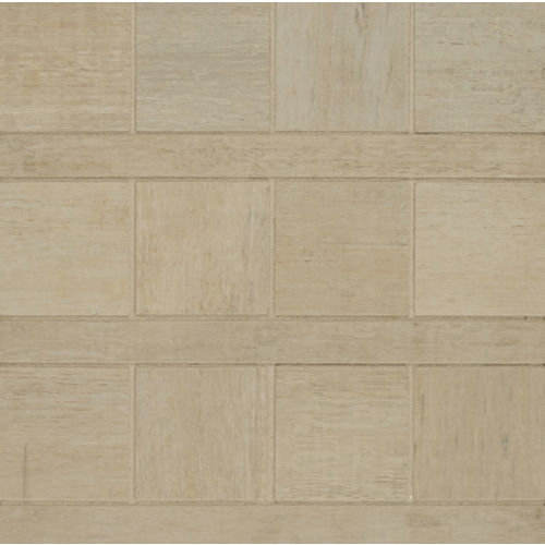 Barrique Floor and Wall Mosaic in Blanc
