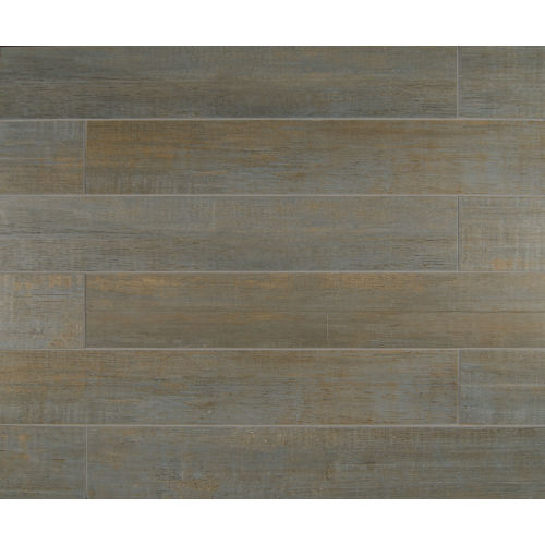 "Barrique 4"" x 24"" x 3/8"" Floor and Wall Tile in Bleu"