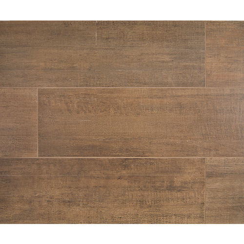"Barrique 8"" x 24"" Floor & Wall Tile in Brun"