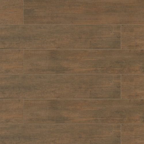 "Barrique 8"" x 40"" x 3/8"" Floor and Wall Tile in Brun"