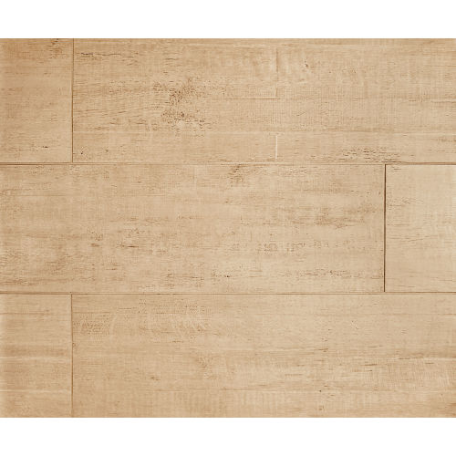 "Barrique 8"" x 24"" x 3/8"" Floor and Wall Tile in Ecru"
