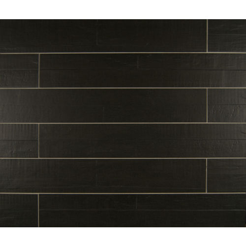 "Barrique 4"" x 24"" Floor & Wall Tile in Noir"