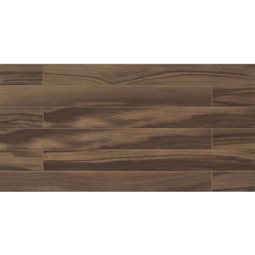 "Epic 4"" x 40"" Floor & Wall Tile in Dark Brown"